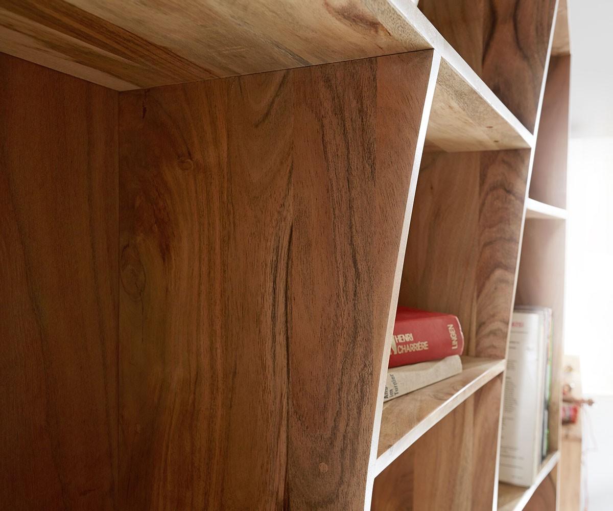 standregal live edge 242x202 cm akazie natur 2er set m bel regale standregale. Black Bedroom Furniture Sets. Home Design Ideas
