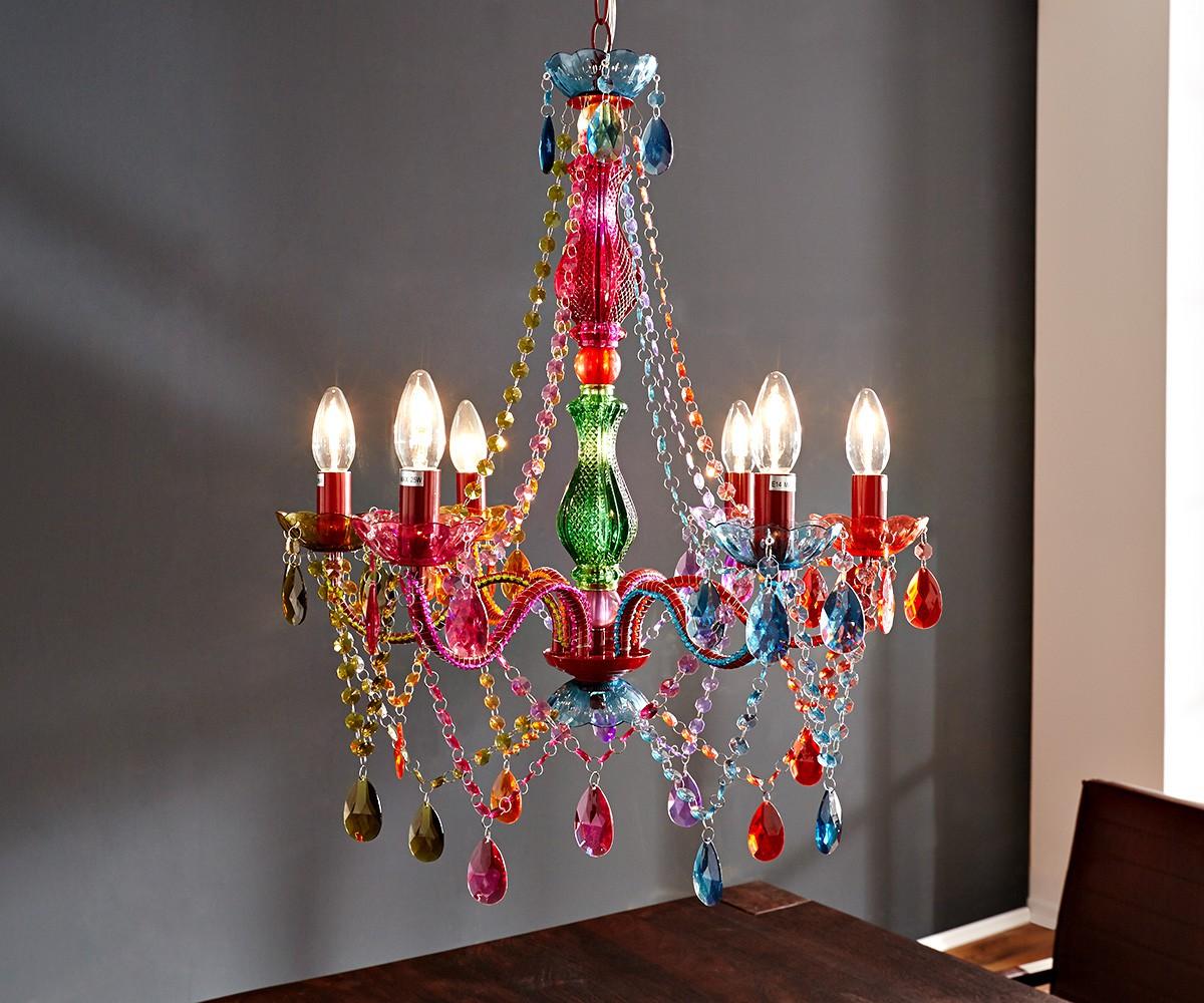 h ngeleuchte gypsy 55x70cm starlight multi rainbow bunt. Black Bedroom Furniture Sets. Home Design Ideas
