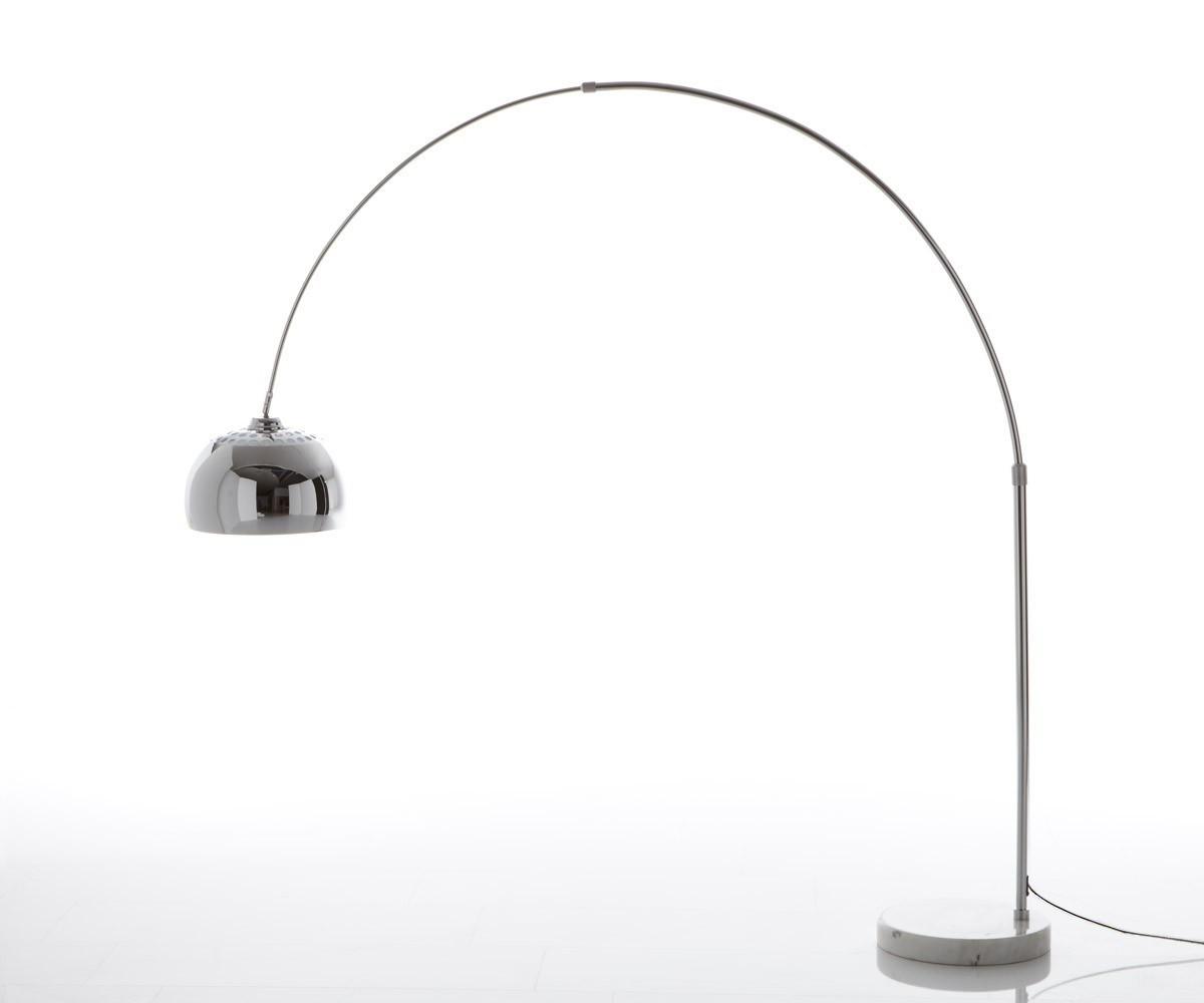 bogenleuchte big deal xl silber dimmbar h henverstellbar m bel leuchten stehleuchten. Black Bedroom Furniture Sets. Home Design Ideas