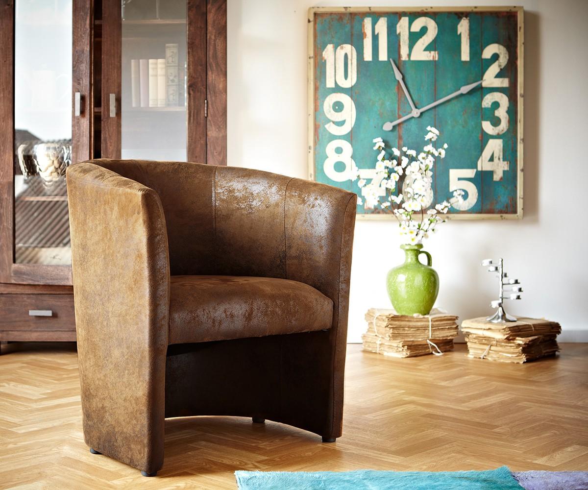 cocktailsessel cazim braun lounge gepolstert m bel sessel liegen cocktailsessel. Black Bedroom Furniture Sets. Home Design Ideas