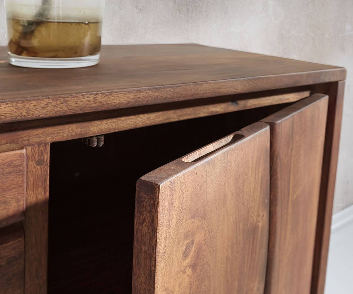 sideboard live edge 147x82 akazie braun 3 sch be 2 t ren m bel kommoden schr nke sideboards. Black Bedroom Furniture Sets. Home Design Ideas