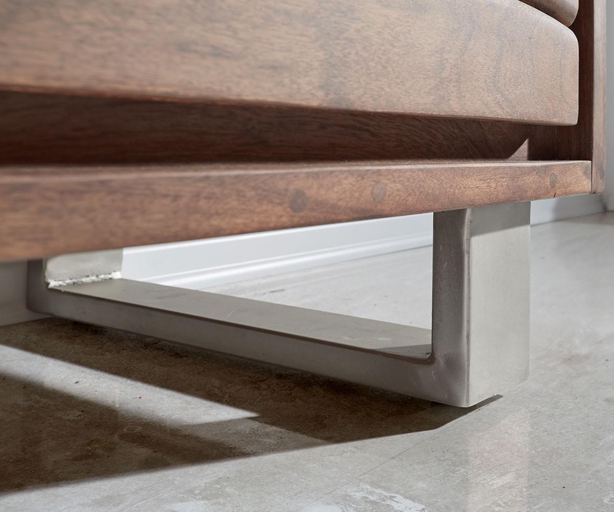 lowboard live edge 146x53 akazie braun 3 sch be 1 fach. Black Bedroom Furniture Sets. Home Design Ideas
