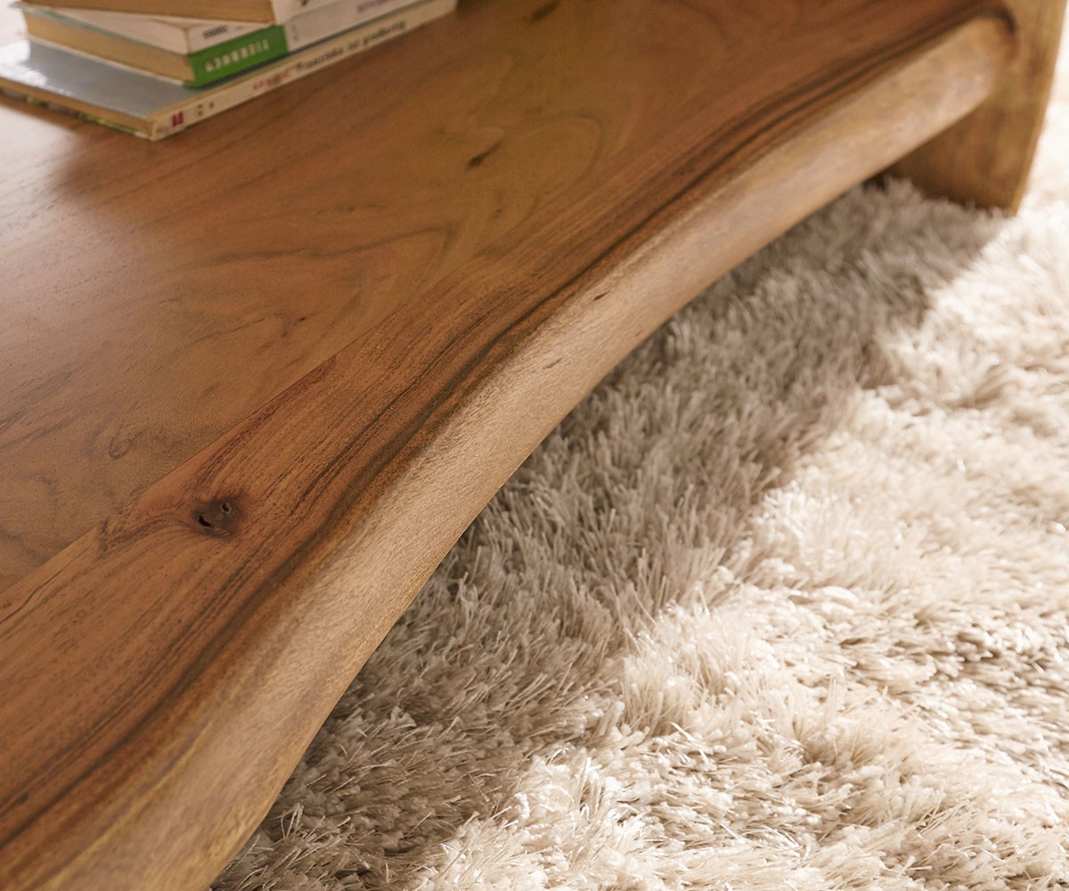 couchtisch live edge 130x60 cm akazie natur baumkante m bel tische couchtische. Black Bedroom Furniture Sets. Home Design Ideas