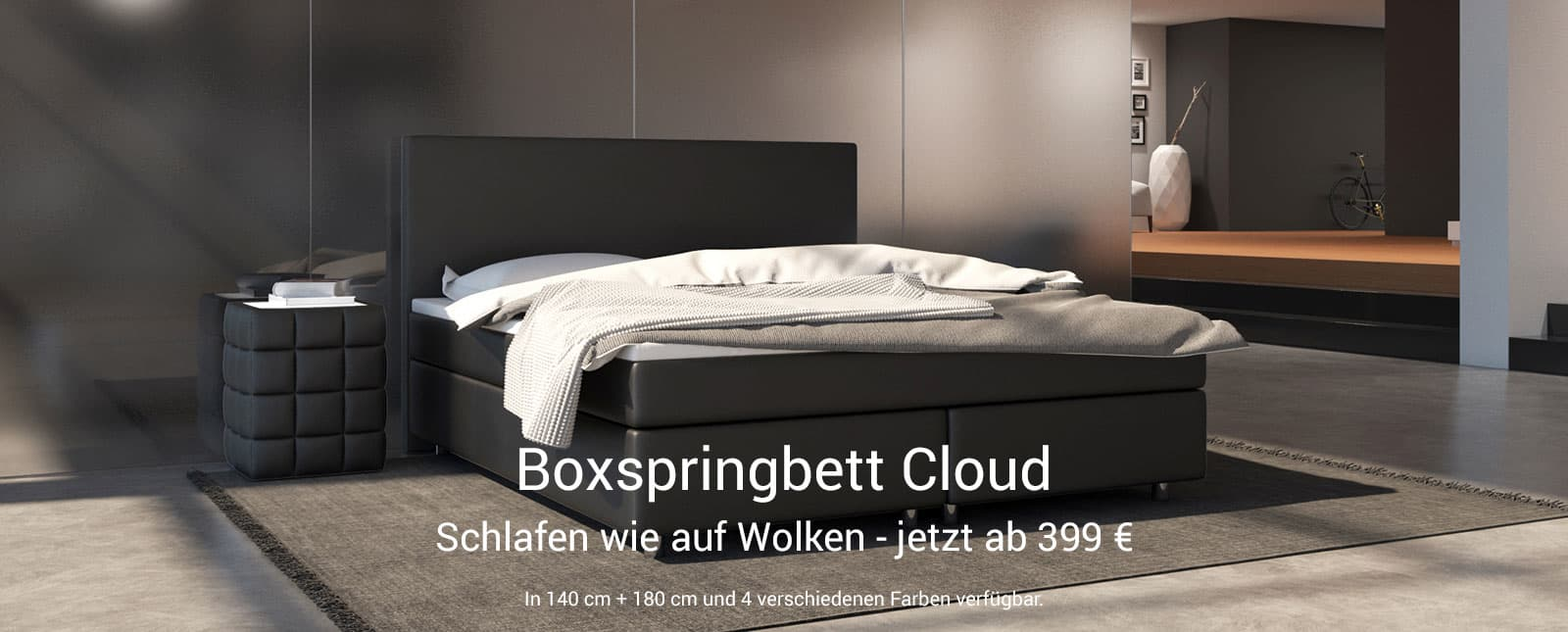 Boxspringbett Cloud