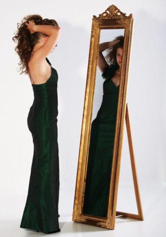 standspiegel barock spiegel gold ebay. Black Bedroom Furniture Sets. Home Design Ideas