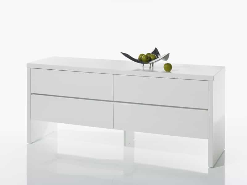 anrichte bronx sideboard weiss hochglanz kommode weiss chf picclick ch. Black Bedroom Furniture Sets. Home Design Ideas