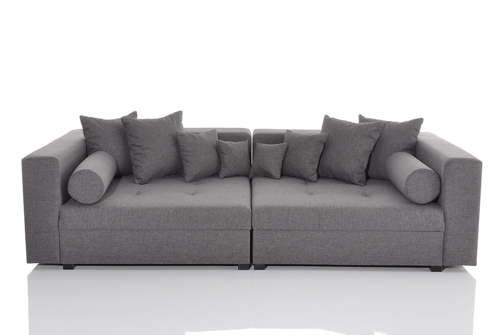 xxl sofa grau xxl sofa bei roller carprola for. Black Bedroom Furniture Sets. Home Design Ideas
