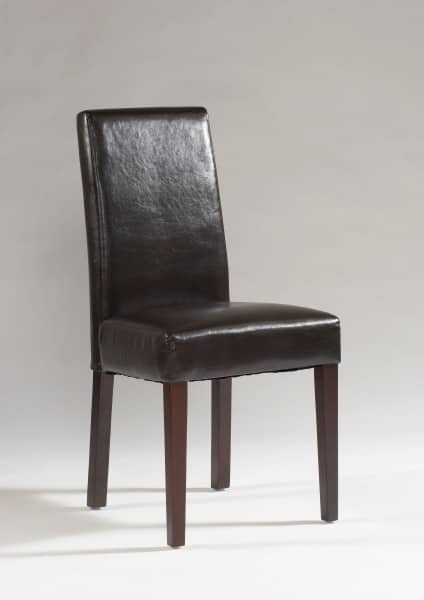 stuhl milano nappalon leder braun kolonial 2 st ck. Black Bedroom Furniture Sets. Home Design Ideas