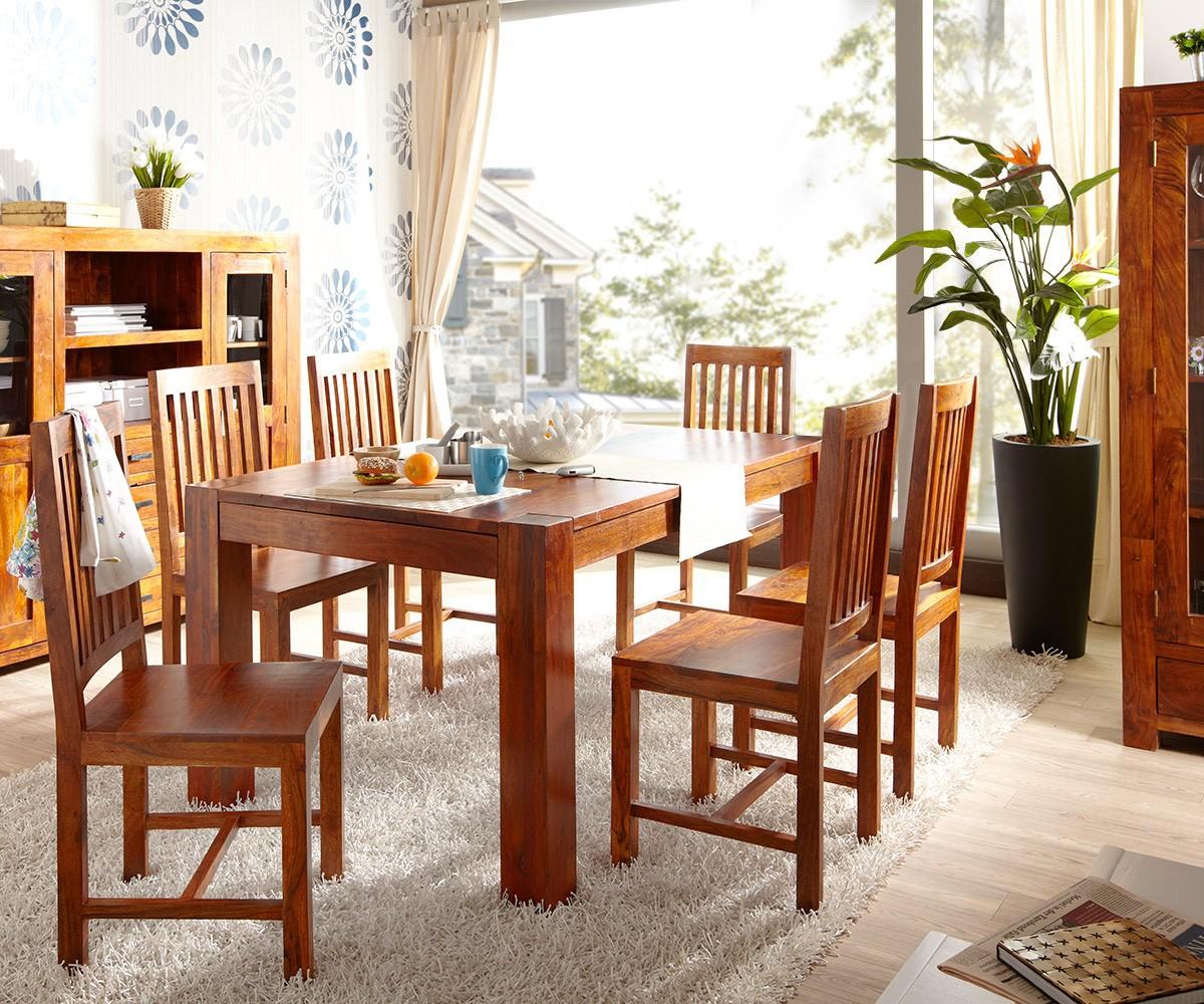 honig 180x100 mit 6 st hlen essgruppe sitzgruppe by wolf ebay. Black Bedroom Furniture Sets. Home Design Ideas