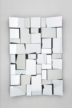 wandspiegel involuto mosaik 120x80 cm wohnaccessoire by kare ebay. Black Bedroom Furniture Sets. Home Design Ideas