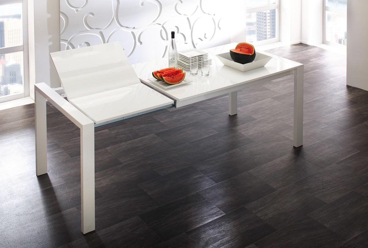 esstisch 140 ausziehbar wei. Black Bedroom Furniture Sets. Home Design Ideas