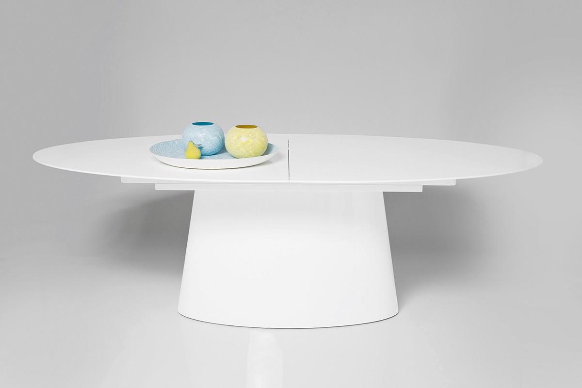 Tisch controversia 240 285x76 cm weiss by kare design ebay for Kare design tisch