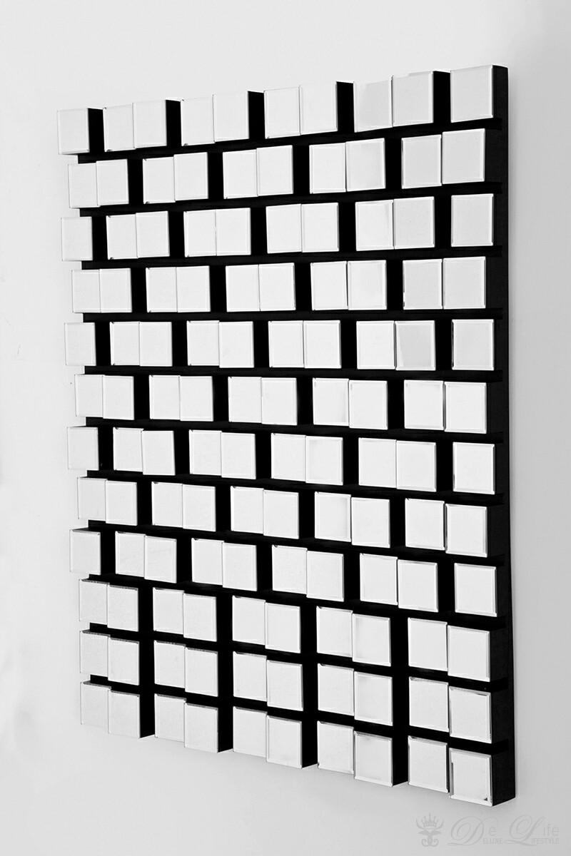 kare design spiegel cubes copper 54x132 cm goldfarben. Black Bedroom Furniture Sets. Home Design Ideas