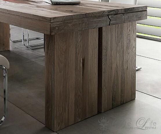 esstisch eiche massiv verwittert esstisch cm eiche verwittert massiv lackiert woody. Black Bedroom Furniture Sets. Home Design Ideas