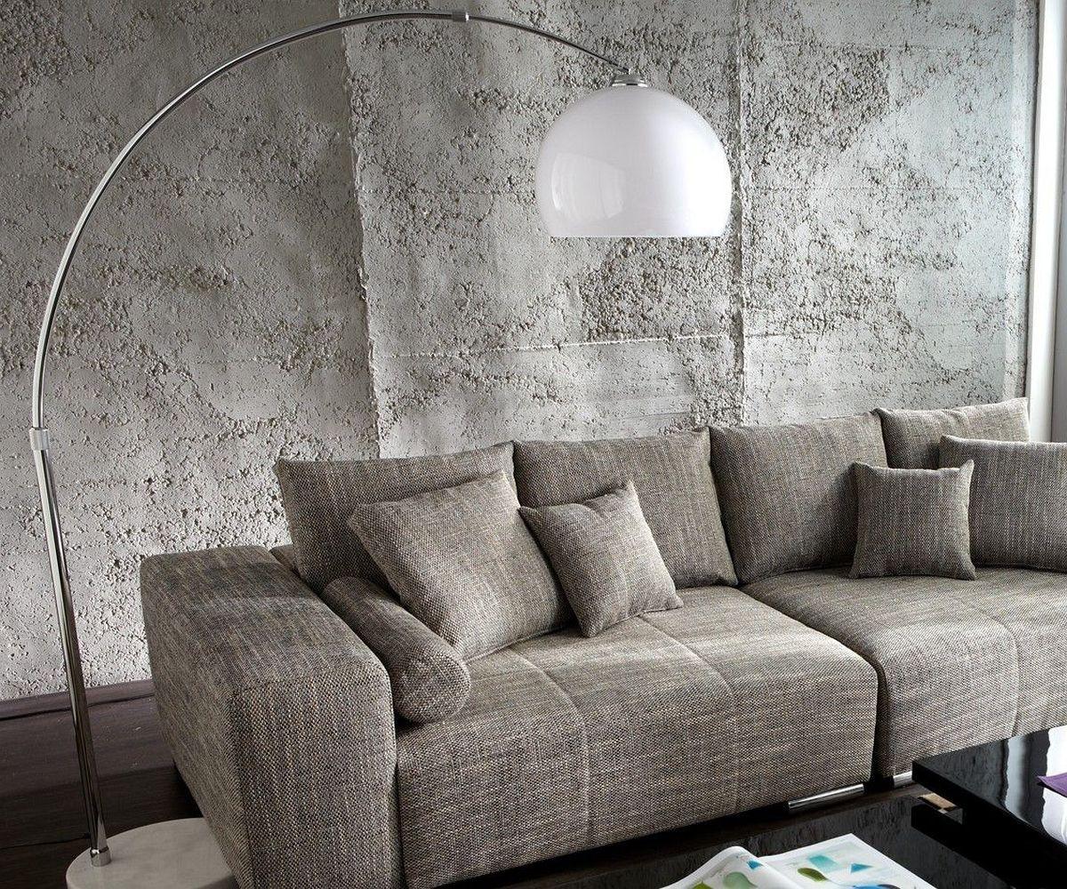 ... Lounge Weiss Marmor höhenverstellbar Möbel Leuchten Stehleuchten