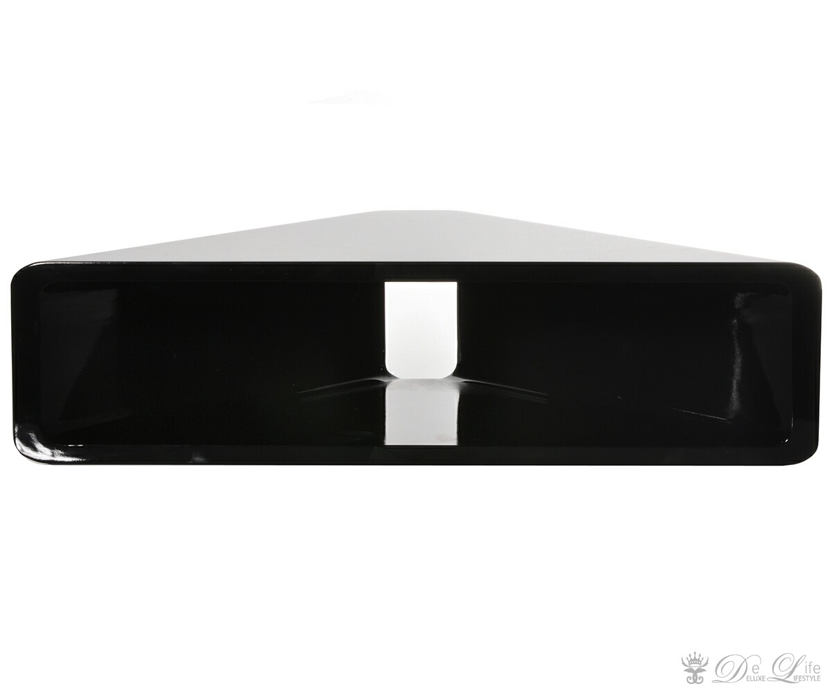eckregal corner 60x15 cm schwarz hochglanz cube regal ebay. Black Bedroom Furniture Sets. Home Design Ideas