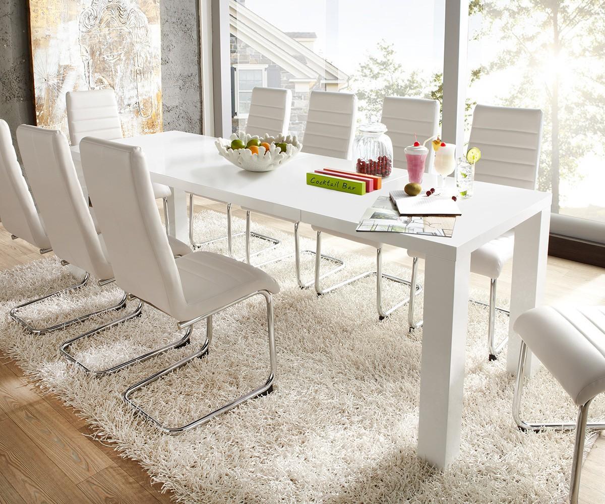 Esstische Weiß   Badezimmer, Schlafzimmer, Sessel & Möbel ...