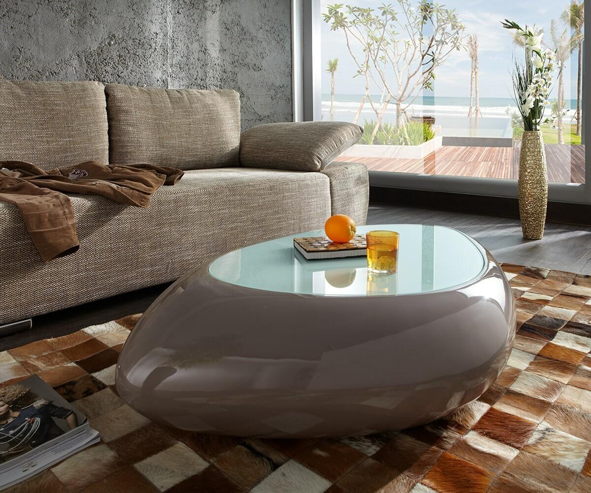 couchtisch glastisch 100x60cm wohnzimmer tisch mit eiche sonoma 3d dekor balken ebay. Black Bedroom Furniture Sets. Home Design Ideas