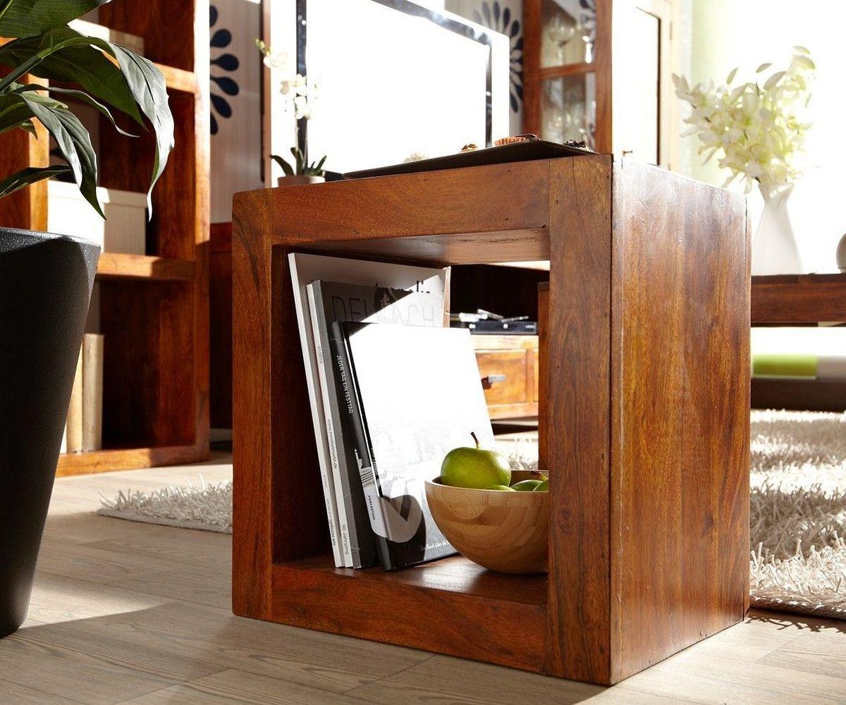 regal guru akazie honig 45x45 cm w rfel raumteiler by wolf. Black Bedroom Furniture Sets. Home Design Ideas