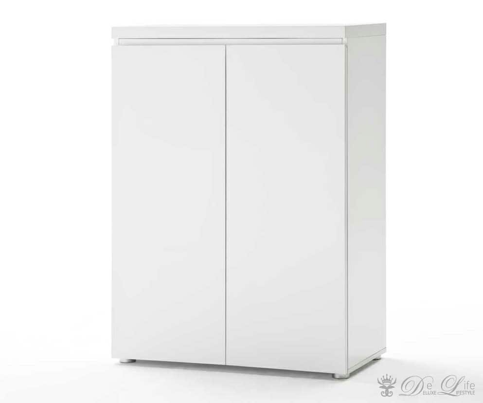 b roschrank lucido 80x116 cm weiss hochglanz 2 t ren bild 2 pictures to pin on pinterest. Black Bedroom Furniture Sets. Home Design Ideas