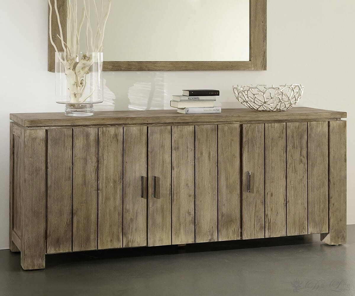 venice sideboard akazie sand 190x80 cm kommode 3 t ren by wolf m bel ebay. Black Bedroom Furniture Sets. Home Design Ideas