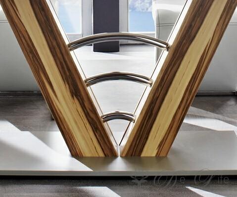 moderner walnuss esstisch. Black Bedroom Furniture Sets. Home Design Ideas