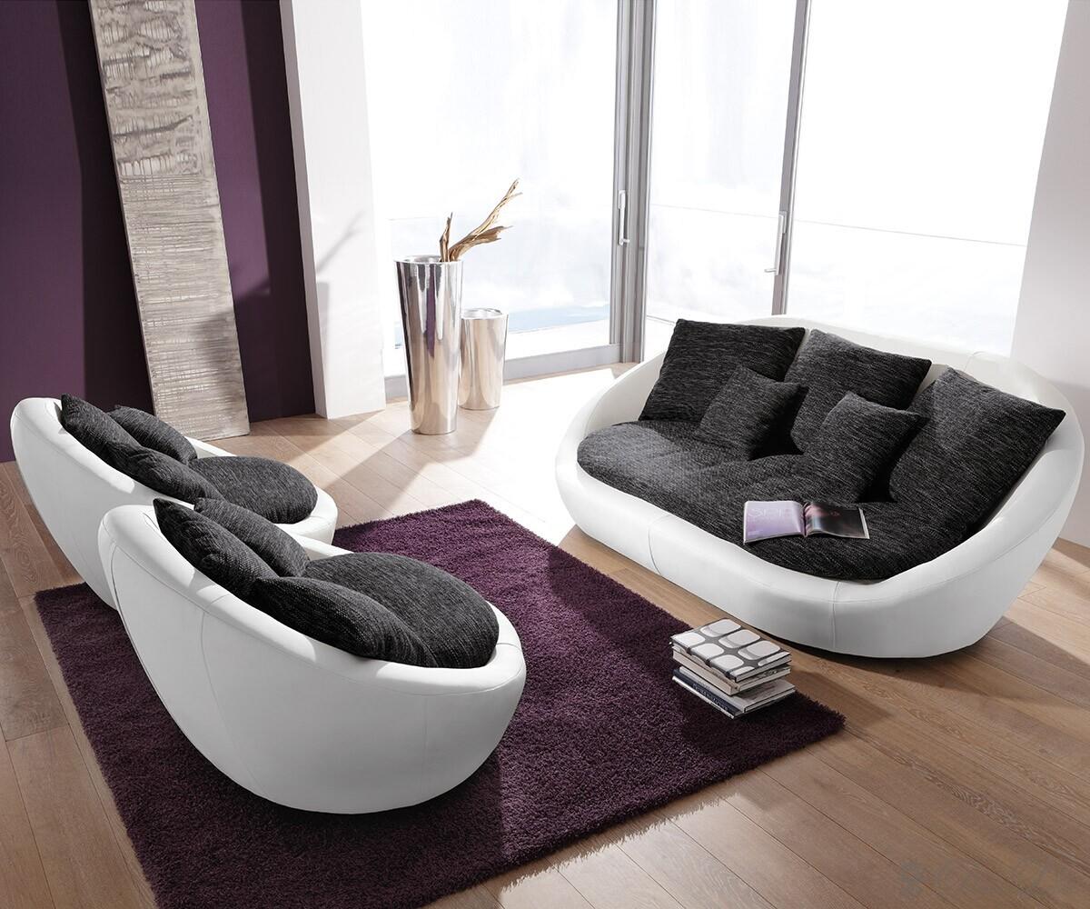 Sofa rund design  Wohnzimmerz: Sofa Rund With Beliani Sofa / Couch Hellgrau Designer ...