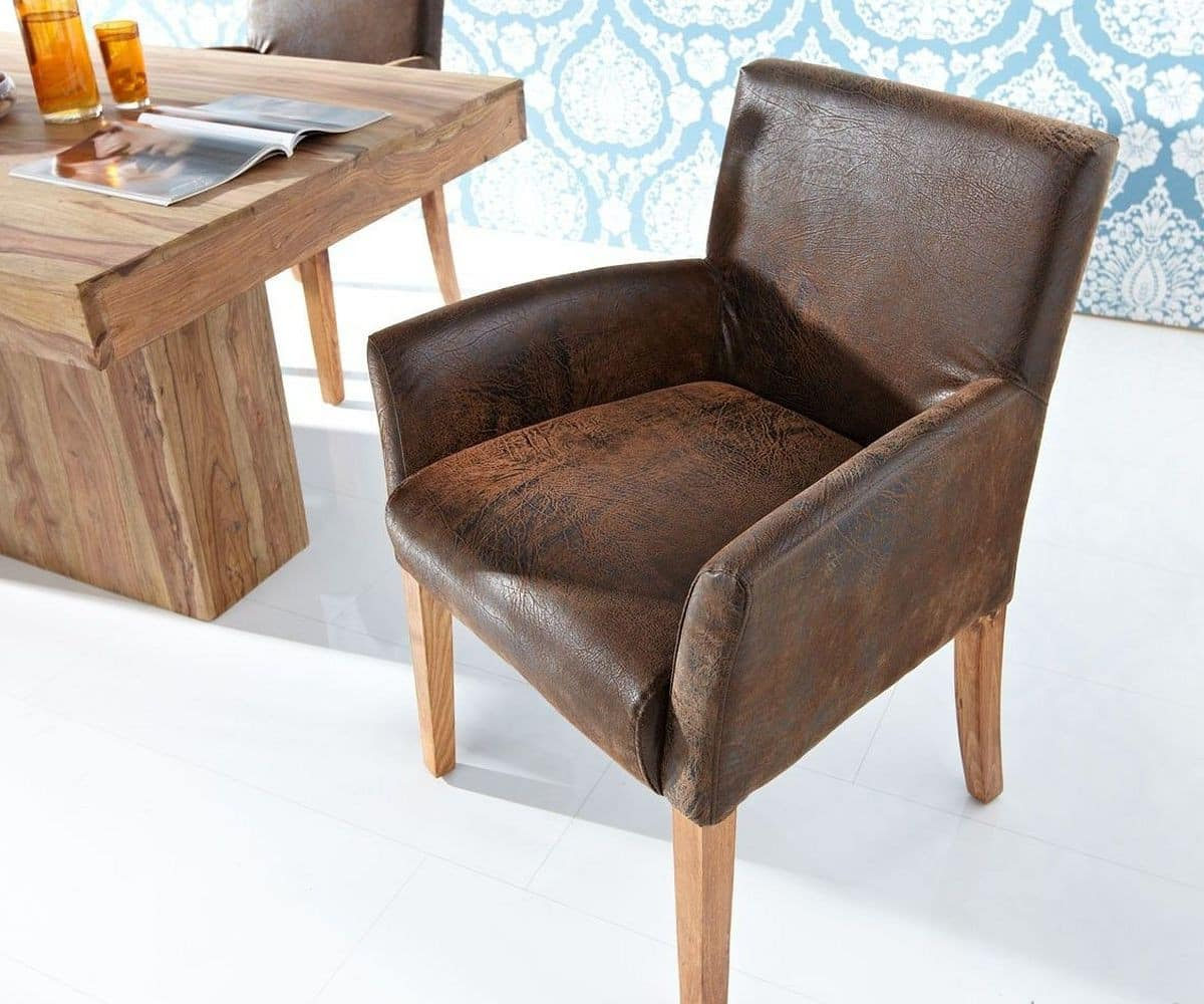 sessel malaga dunkelbraun kolonialstil beine akazie stone. Black Bedroom Furniture Sets. Home Design Ideas