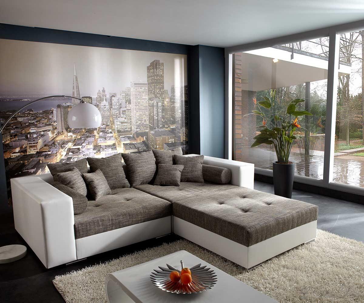 xxl sofas leder delife preisvergleiche erfahrungsberichte und kauf bei nextag. Black Bedroom Furniture Sets. Home Design Ideas