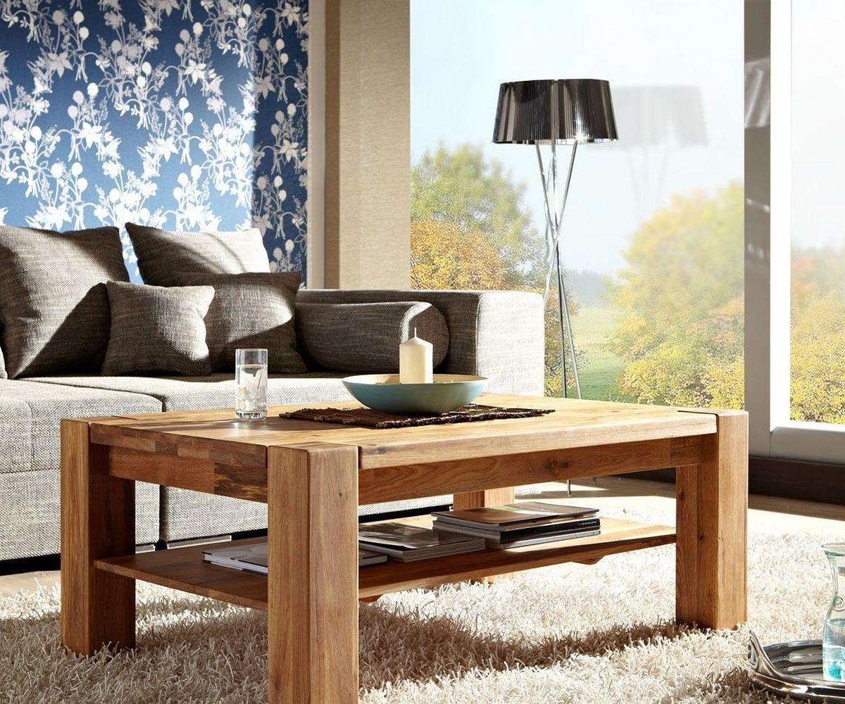 delife couchtisch rubikon 120x80 eiche ge lt massivholz. Black Bedroom Furniture Sets. Home Design Ideas
