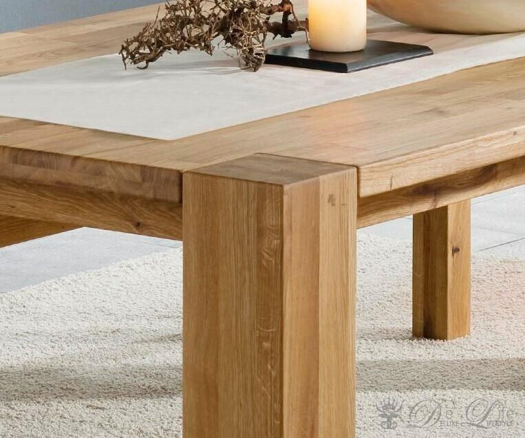 Tisch Mattis 140X90 Eiche Massiv Geölt Esstisch Holztisch