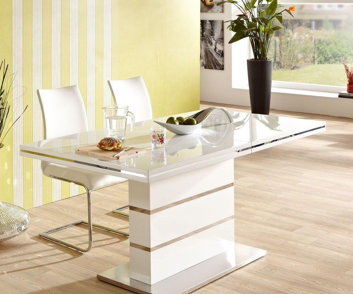 esszimmer hochglanz weiss preisvergleiche erfahrungsberichte und kauf bei nextag. Black Bedroom Furniture Sets. Home Design Ideas