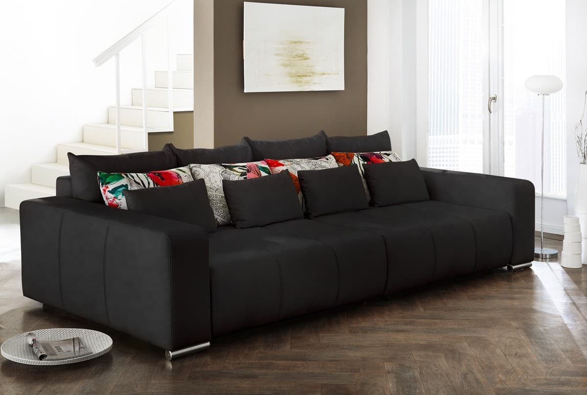 Big Sofa Bigsofa Xxl Kolonialstil Couch Afrika 320 Cm Mit Hocker Und ...