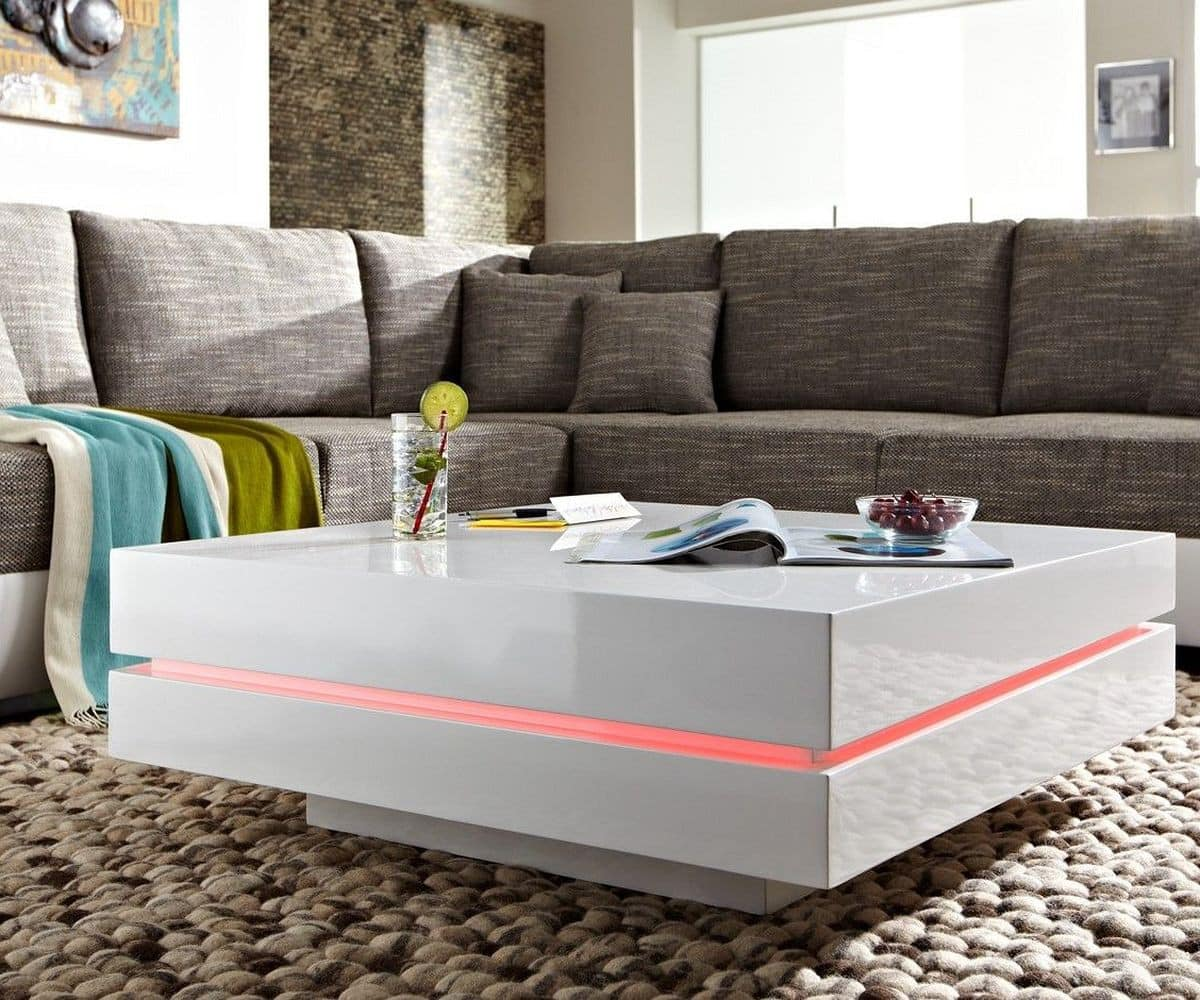 couchtisch wei led energiemakeovernop. Black Bedroom Furniture Sets. Home Design Ideas