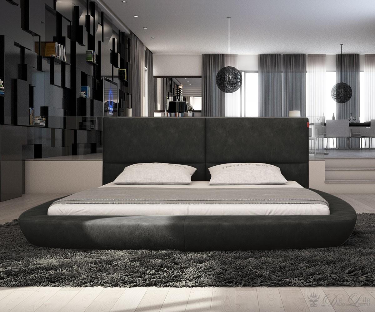 Luxurioses bett design hastens guten schlaf