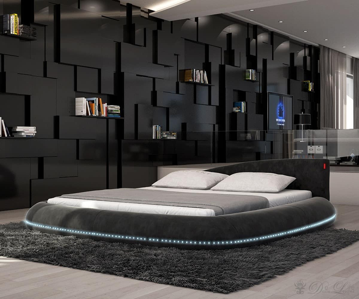 designer bett rund. Black Bedroom Furniture Sets. Home Design Ideas