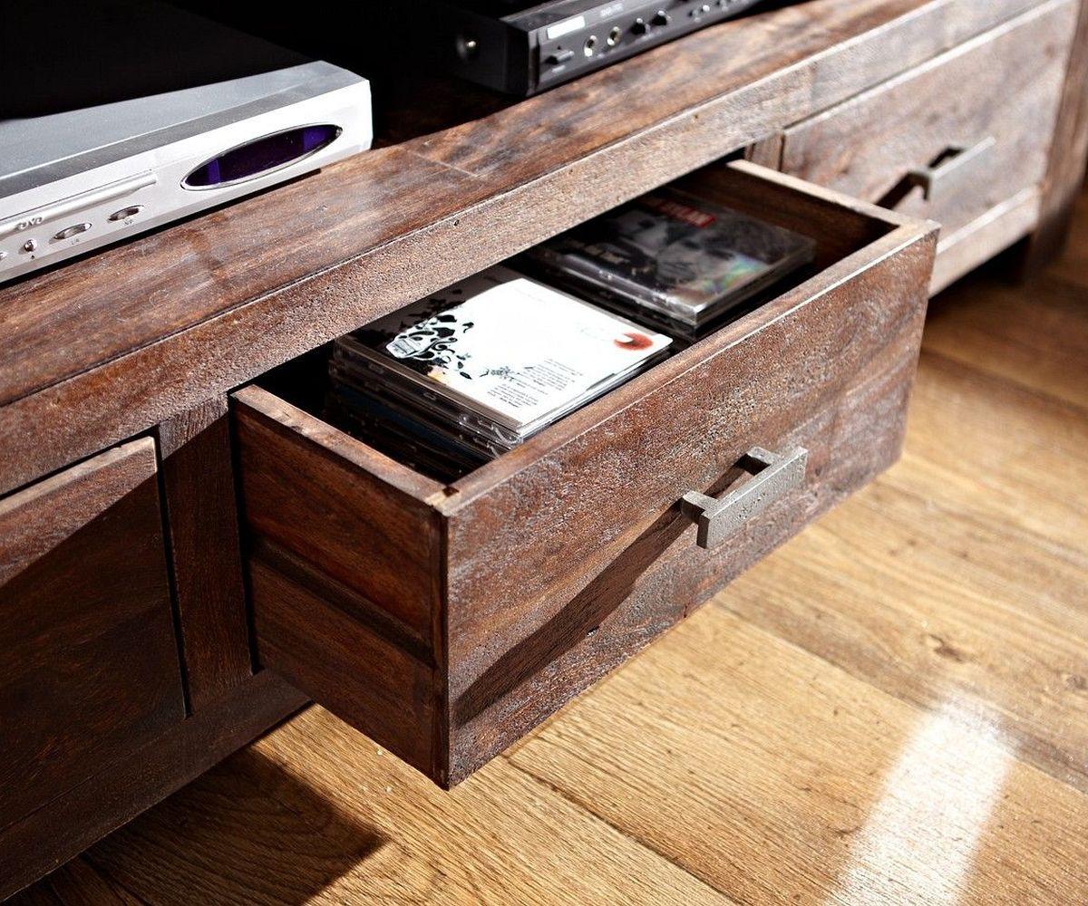 lowboard guru 150 cm akazie tabak 3 sch be by wolf m bel. Black Bedroom Furniture Sets. Home Design Ideas