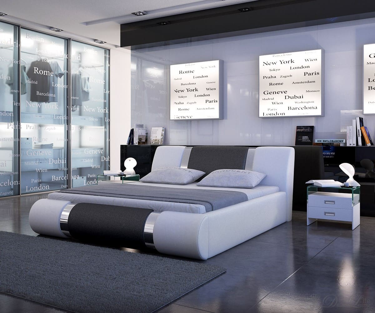 designer bett rund inneneinrichtung und m bel. Black Bedroom Furniture Sets. Home Design Ideas