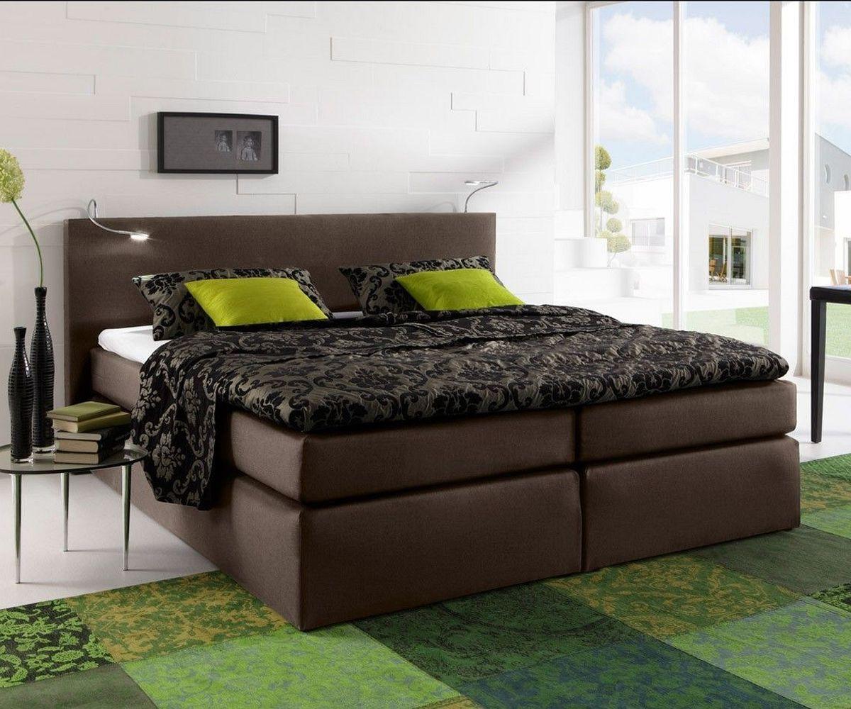 wandfarben schlafzimmer ~ kreative deko-ideen und innenarchitektur - Schlafzimmer Modern Braun Boxspringbett
