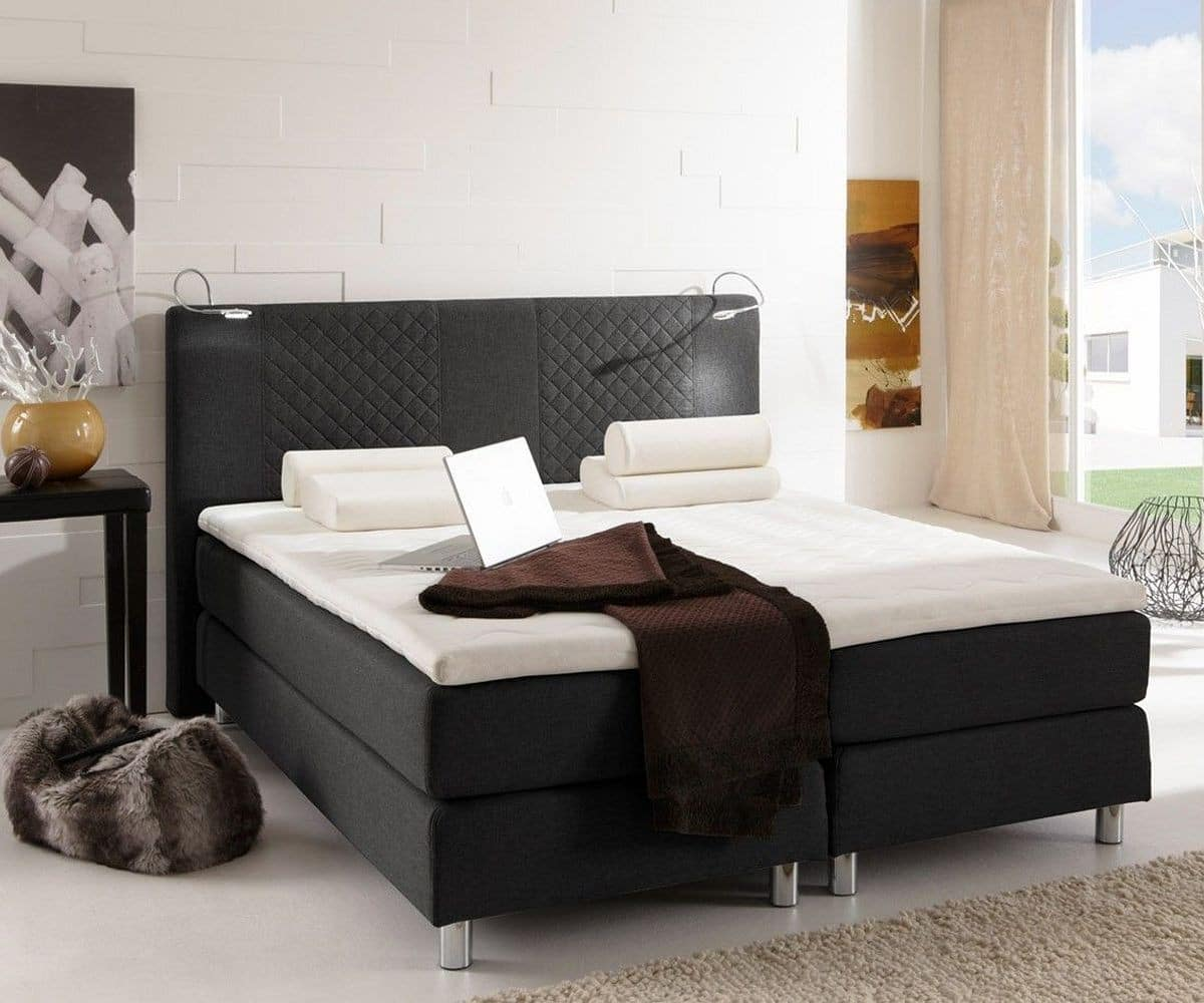 betten gnstig 140x200 amazing boxspring bett wei x und wie sie ihr zuhause design ideen leicht. Black Bedroom Furniture Sets. Home Design Ideas