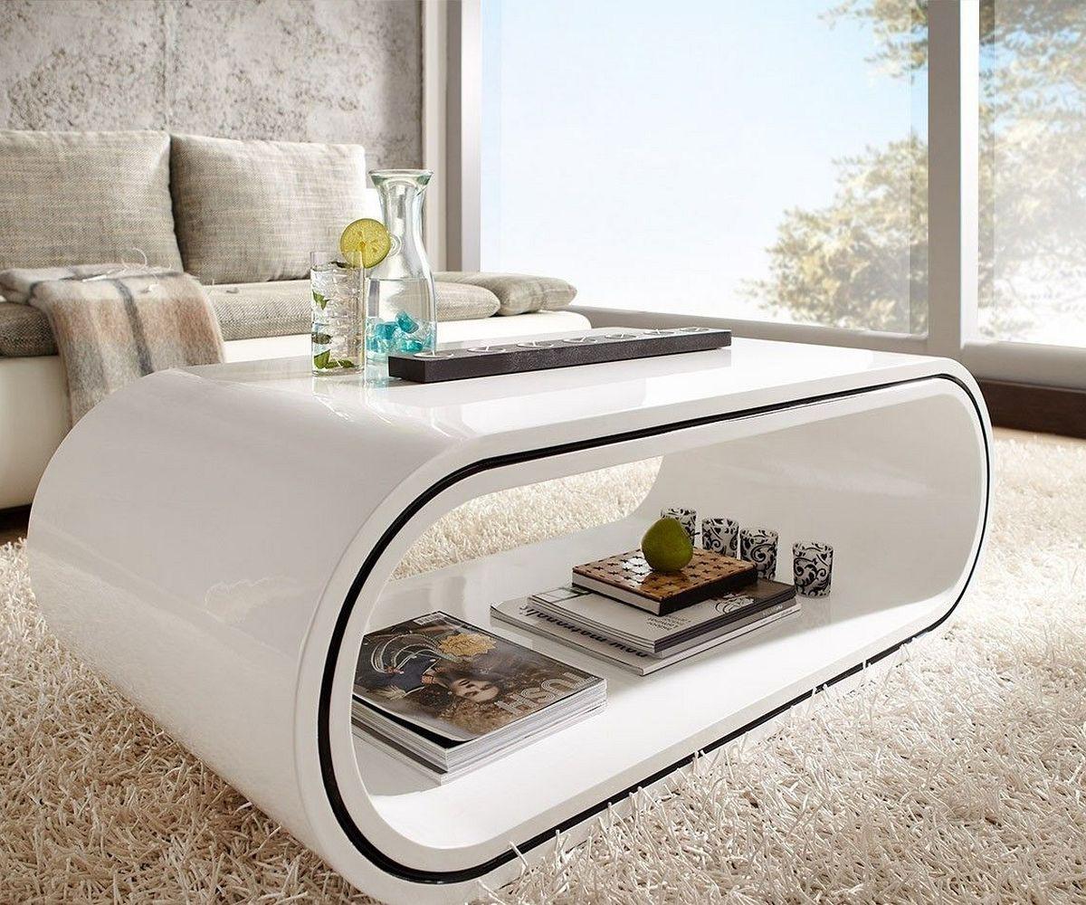 hometrends4you 173126 couchtisch h he 45 cm durchmesser 80 cm wei matt smash. Black Bedroom Furniture Sets. Home Design Ideas