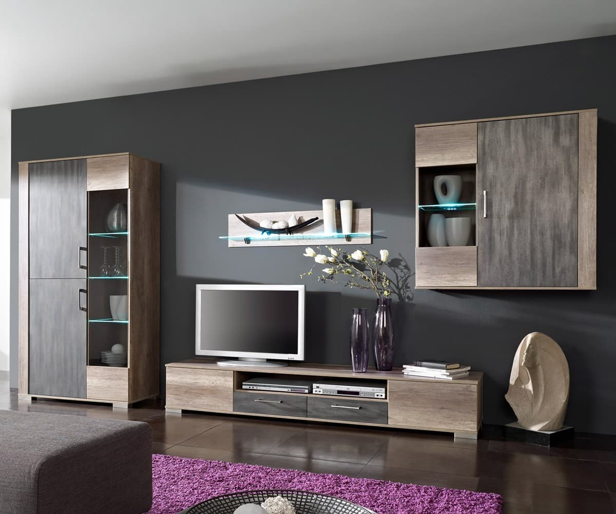 zimmer grau lila. Black Bedroom Furniture Sets. Home Design Ideas