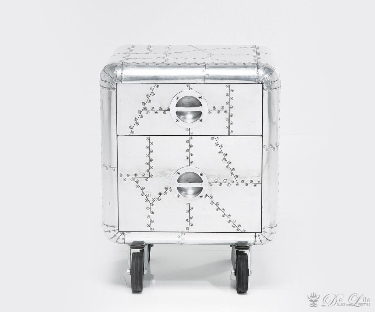 Rollcontainer Soho 45x58 cm Silberfarben Schreibtischcontainer ...