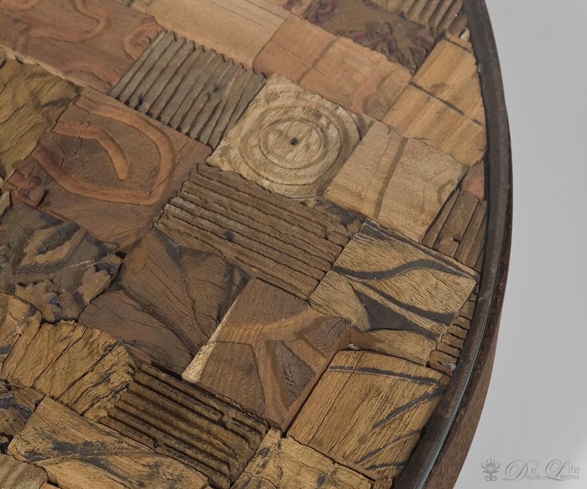 Couchtisch Memory Round 90cm Holz Wohnzimmertisch Rund Sofatisch Tisch By Kare