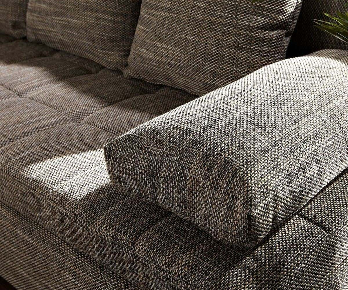 ecksofa juline 200x155 grau mit schlaffunktion variabel m bel sofas ecksofas. Black Bedroom Furniture Sets. Home Design Ideas