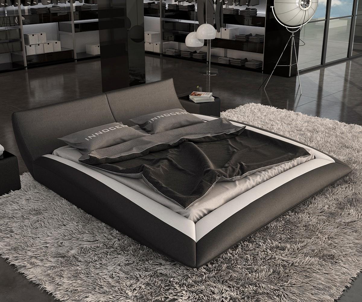 delife boxspringbett elaina 180x200 weiss bett mit. Black Bedroom Furniture Sets. Home Design Ideas