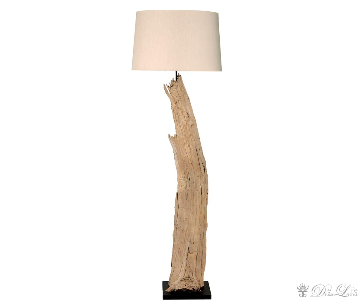 stehleuchte elion 30x173 cm naturweiss holz stehlampe standleuchte design lampe. Black Bedroom Furniture Sets. Home Design Ideas