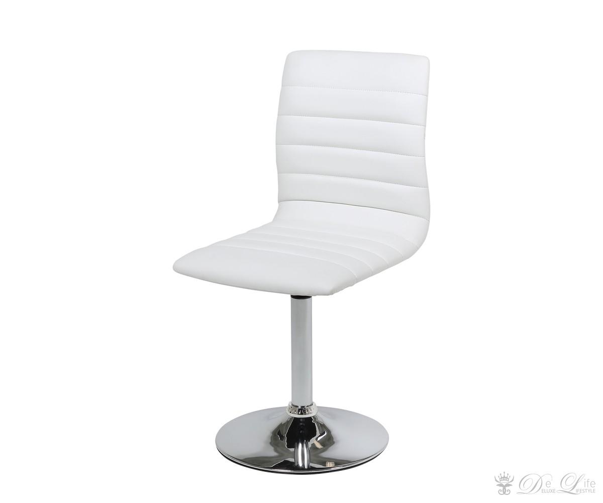 barhocker rois weiss esszimmerstuhl drehbar k chenstuhl ebay. Black Bedroom Furniture Sets. Home Design Ideas