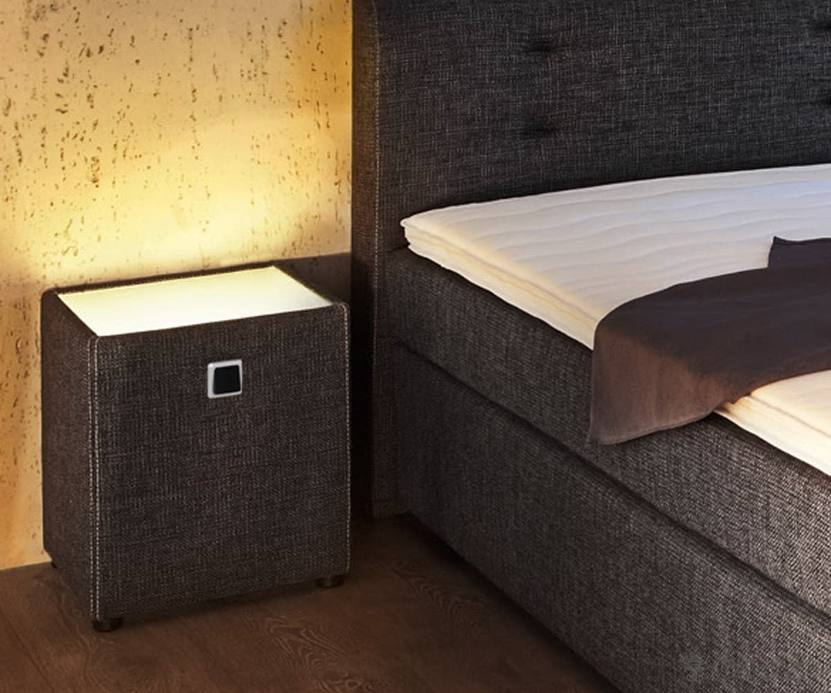nachttisch f r boxspringbett nachttisch lobitius in wei f. Black Bedroom Furniture Sets. Home Design Ideas