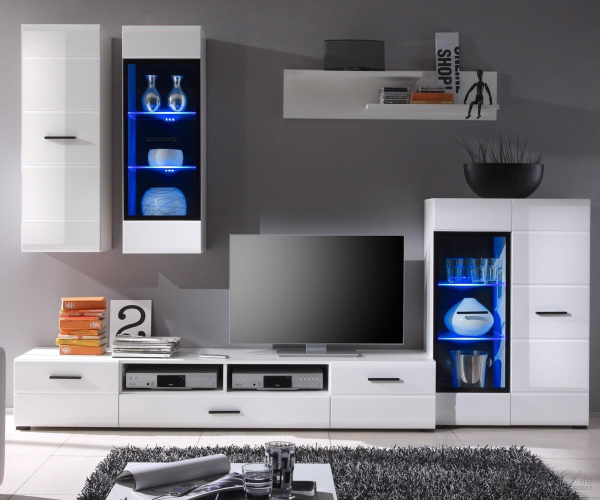 Wohnzimmerschrank Weiß Hochglanz – sehremini